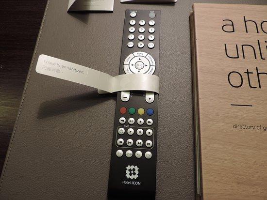 Hotel ICON: TV remote