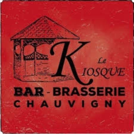 Chauvigny, Fransa: Logo du restaurant