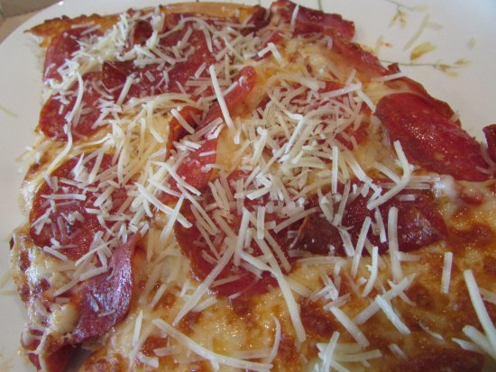 Spring, TX: Pepperoni & Cheese Pizza with Added Shredded Parmesan Cheese