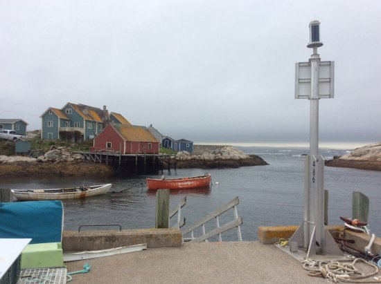 Peggy's Cove after the crowds