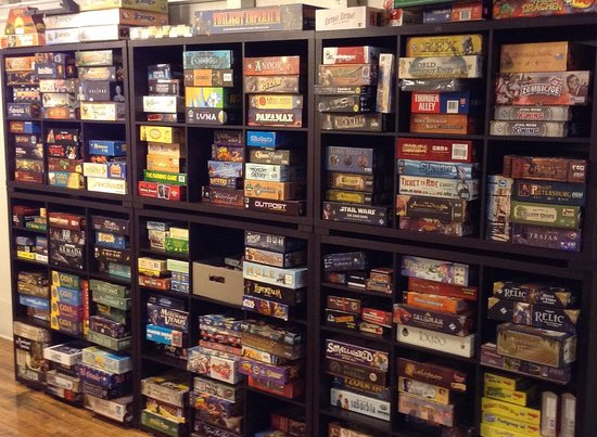 Great Falls, MT: The boardgame library is available for free play in store or take a game home for a small rental