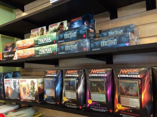 Downtown Dice & Games: Find all of your MTG needs here!