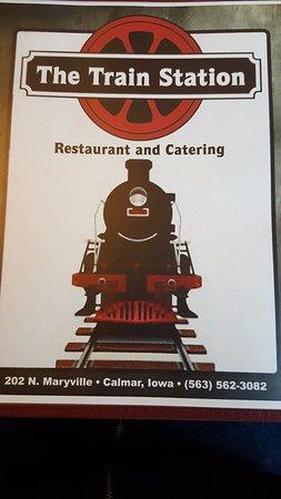 Calmar, IA: menu cover