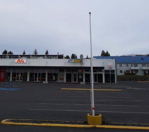 Egilsstadir, Islanda: subway