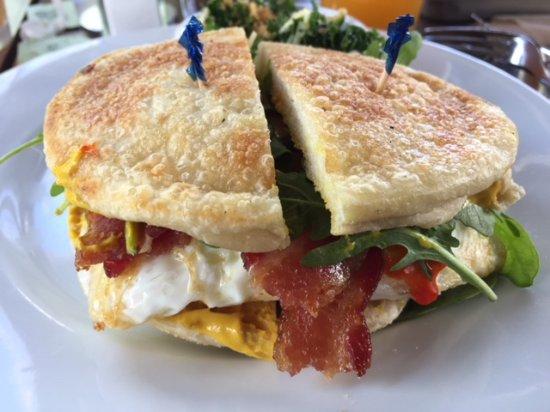 The Grove Cafe Market Fancy Breakfast Sandwich