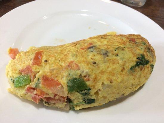 Mundelein, IL: Outstanding Veggie Omlet