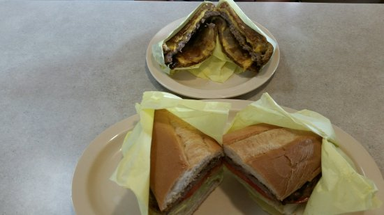 Glendora, CA: Steak sandwich