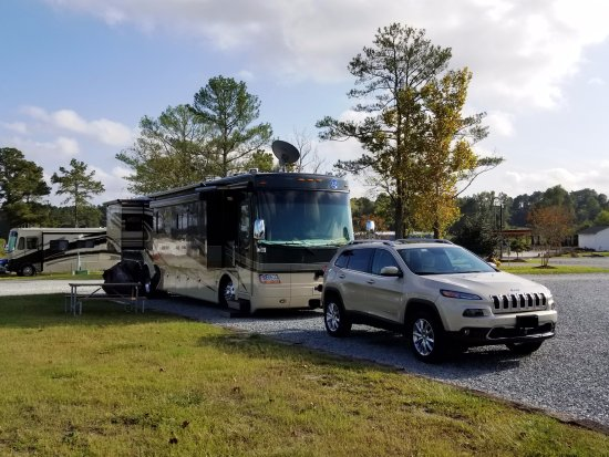 Rv Site Picture Of Raleigh Oaks Rv Resort Amp Cottages
