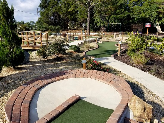 Four Oaks, Carolina del Norte: Miniature Golf