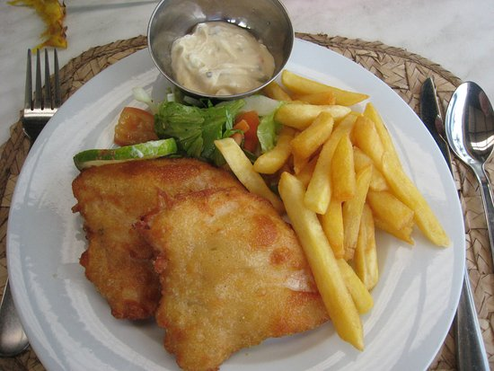Coral Coast, Fiyi: Fish and chips