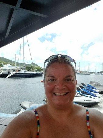 Marigot, St. Martin/St. Maarten: In the marina