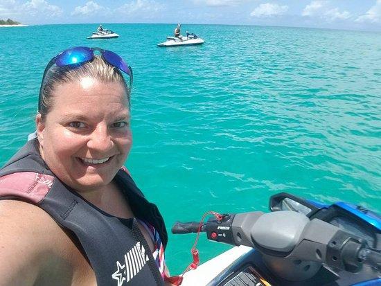 Marigot, St Martin / St Maarten: Jet ski tour