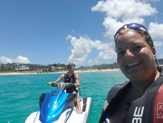 Marigot, Saint-Martin / Sint Maarten: Jet ski tour