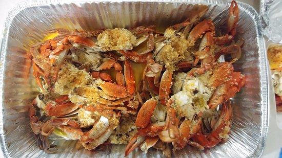 Dozen Garlic Crab Picture Of New Orleans Cajun Seafood