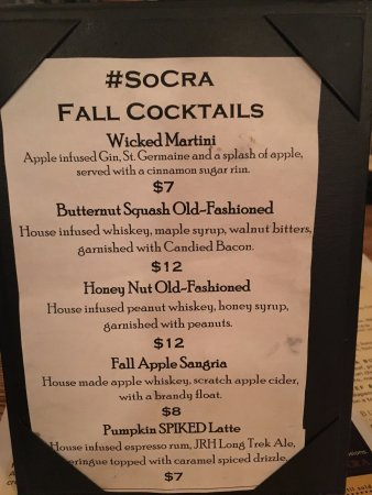 Johnson City, TN: Seasonal Cocktails