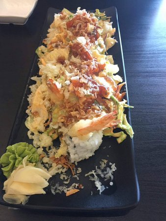 New Westminster, Canada: Spicy crunch roll