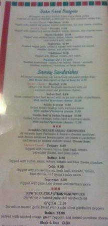 เอลก์โกรฟวิลเลจ, อิลลินอยส์: burgers and sandwiches