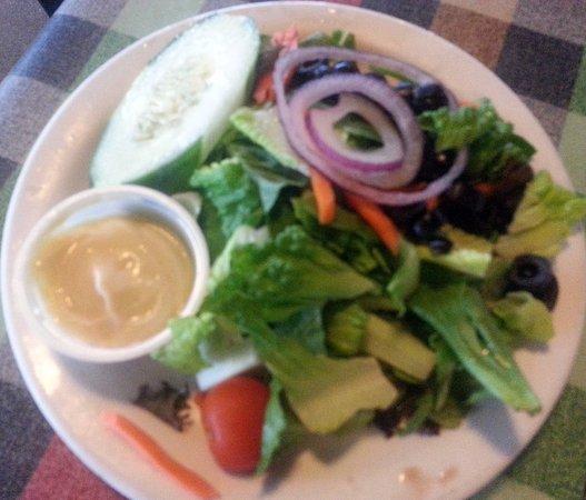 เอลก์โกรฟวิลเลจ, อิลลินอยส์: side Caesar salad