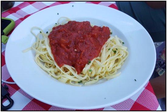 Gasthof Simony Restaurant am See: Tortellini.