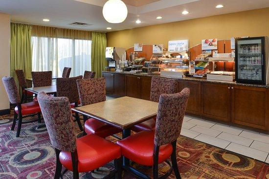 Ridgeland, Μισισιπής: Breakfast Area