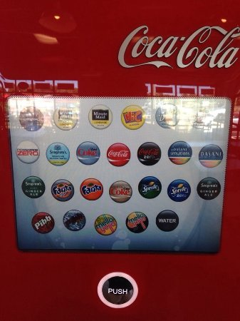 Rosemont, IL : CocaCola Freestyle options