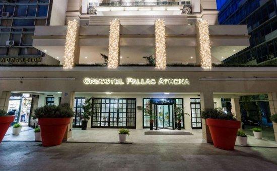 Pallas athena grecotel boutique hotel athens greece for Design boutique hotels athens