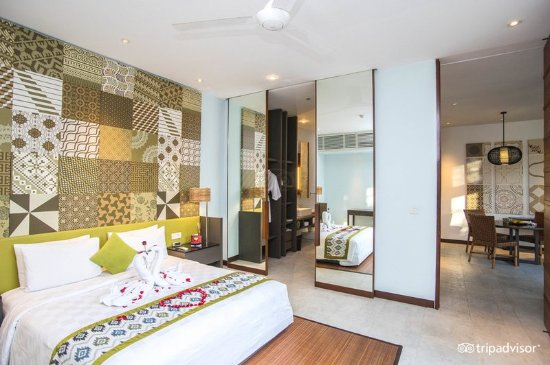 The Elysian: Bedroom at One Bedroom Villa