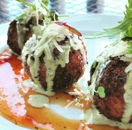 1652: Arancini with Housemade Tomato Jam