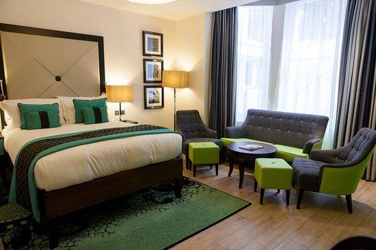 Hotel Indigo London Kensington: Superior Oversized Queen Bed