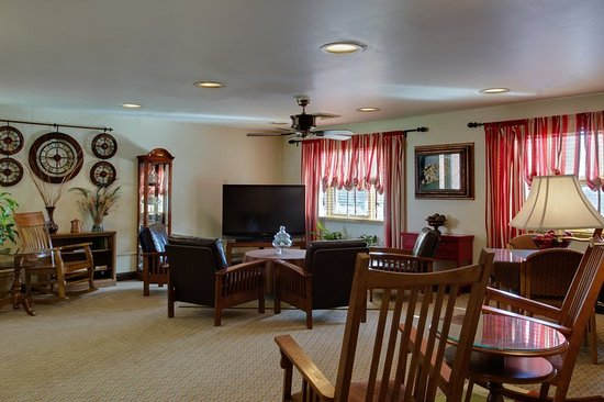 Aberdeen, MD: Guest Lounge and Reading Room