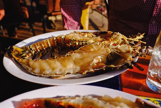 Puerto Nuevo, Мексика: Awesome fresh lobsters