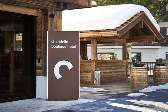 Chandolin, Swiss: Hotel Entrance