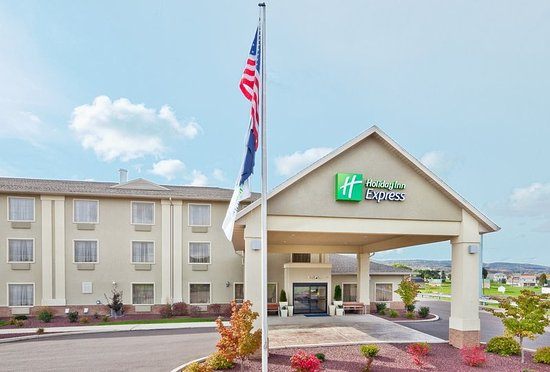 Renovated Holiday Inn Express Exterior near Bloomsburg University