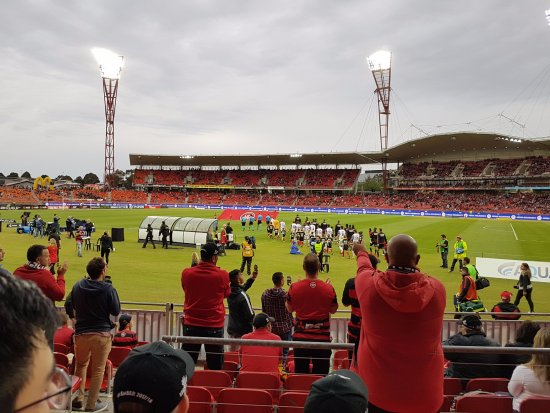 Homebush, Australia: Wanderers vs Perth Glory