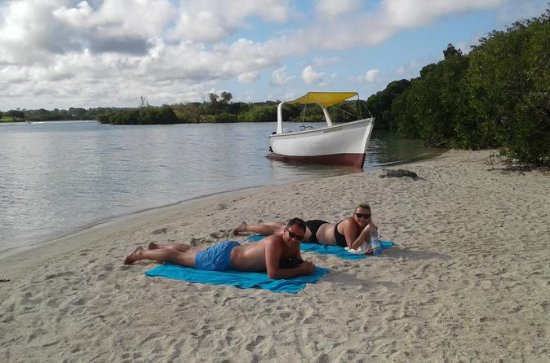 Day Trip to Ile Aux Cerfs Island and Grand River South East Waterfall...