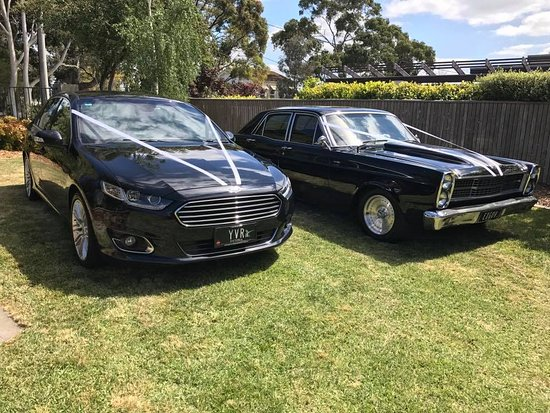 Lilydale, Australien: Wedding cars