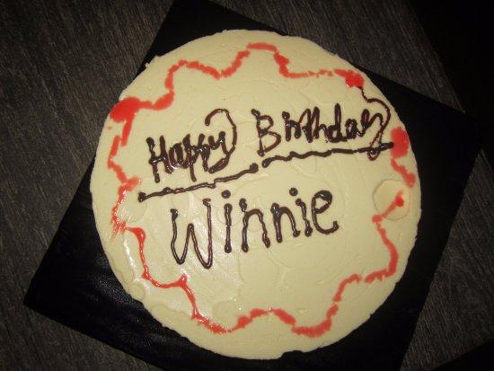 Groovy Happy Birthday To You Winnie Traditional Yogurt Cheese Cake Birthday Cards Printable Benkemecafe Filternl