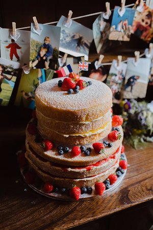 Gluten-free wedding cake - Picture of Cafe Adventure, Hope Valley ...
