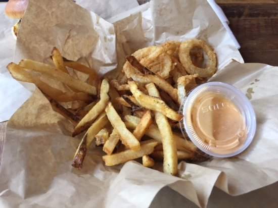 Roswell, GA: Fries and Rings