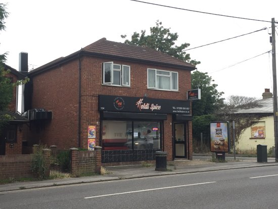 Canvey Island, UK: Holdi Spice Indian Takeaway
