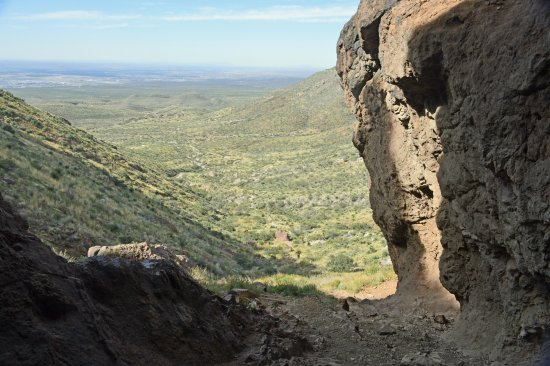 Franklin Mountains State Park: view from inside