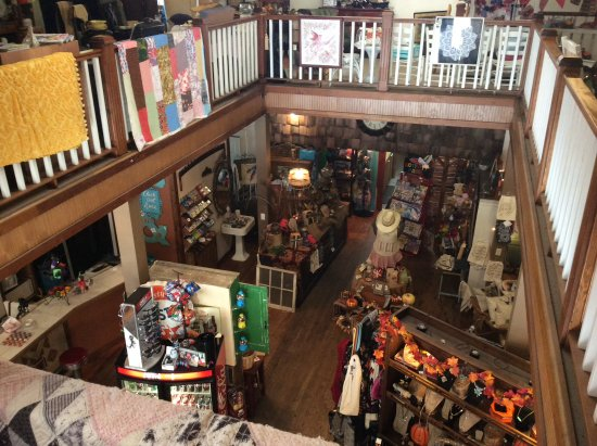 Dillsboro, Βόρεια Καρολίνα: This was taken from the upstairs looking down into the store