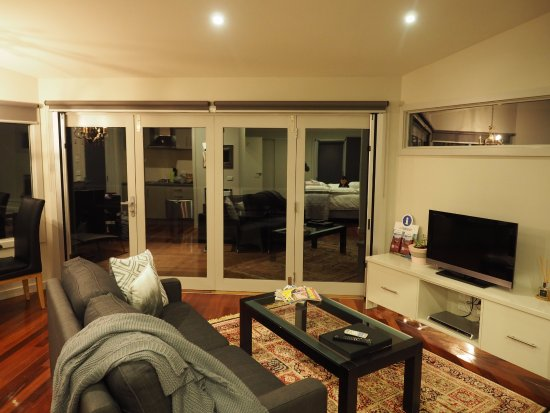 Yarra Glen, Australia: Living room