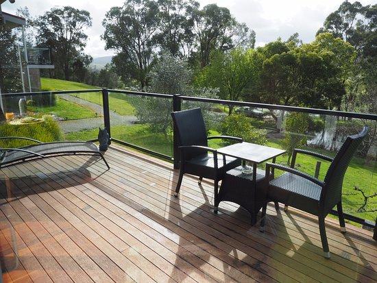 Yarra Glen, Australia: balcony