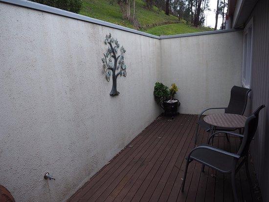 Yarra Glen, Australia: backyard