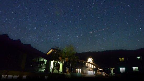 Hotel Jogakura: 外観 星空