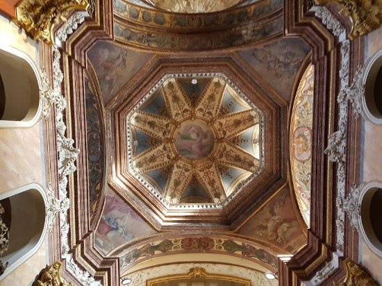 Olomouc, Czech Republic: Ceiling view