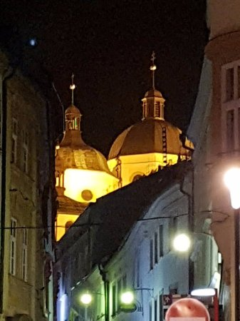 Olomouc, Czech Republic: Evening view
