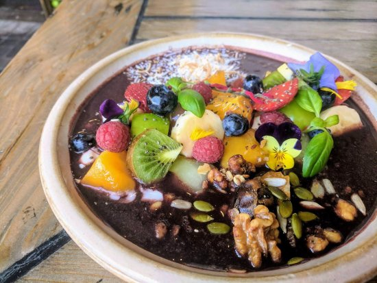 Thirroul, Australien: From the breakfast menu: Jose Jones' flavoursome and colourful Açaí Bowl