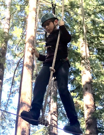 Mount Hermon, CA: Walking the tight rope